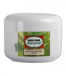 Crema Aloe Vera Hidratante para cara y piel Activa Hidratante - Aloveria 200ml de aloe biológico