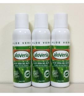 3x Gel Aloe Vera Puro 99,6% 3pcs 100ml Producto Ecológico