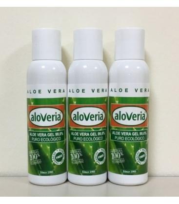 3xReines Haut Aloe Vera Gel 100 ml 99,6%