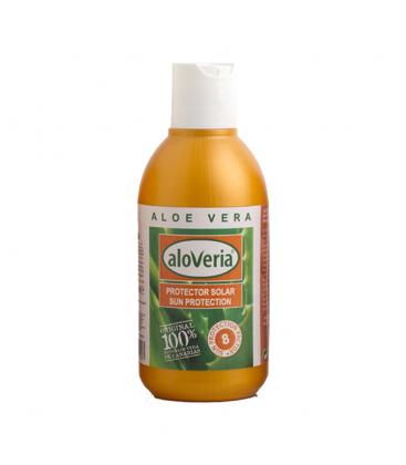 Protector Solar Natural - de Aloe Vera 100% Biológico SPF8 250ml