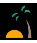 Saft mit Kanarische Palme