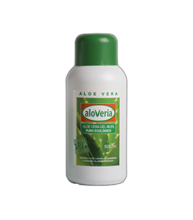 Gel Aloe Vera Puro 99.6% Aloveria 500 ml - Ecológico y Natural