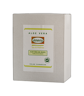 Bag-in Box 3kg Gel Puro Aloveria