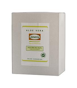 Aloe Vera Bag-in Box 3kg Reines Haut Gel 99,6%
