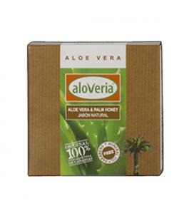 Jabon de Miel de Palma y Aloe Vera - 100% Natural 80g