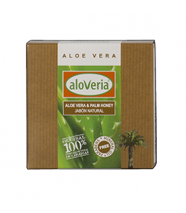 Aloe Vera Seife Handarbeit mit Palmenhonig